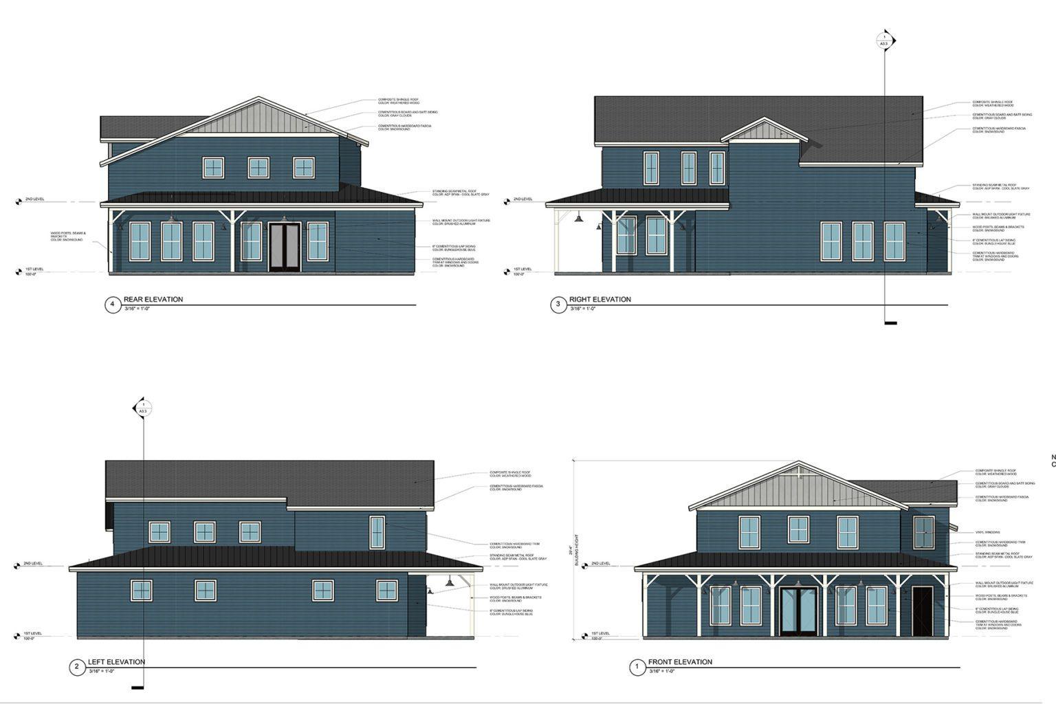 Big Blue House
